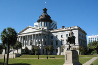 South Carolina State House in Columbia, SC