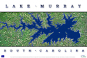 Lake Murray satellite map